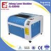 máquina de gravura do laser do Wristband do silicone do cortador do laser do CO2 60W 6040