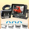 Sistema de reserva de la cámara con la cámara auto del obturador para los vehículos de transporte