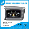 2 DIN Car DVD para Honda Civic 2012com GPS integrado um Chipset8 Bt RDS 3G/WiFi rádio DSP 20 Dics Momery (TID-C132)