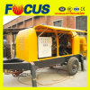Betriebsbereites Concrete Trailer Pump Hot Sale Concrete Trailer Pump Trailer Concrete Pump für Sale