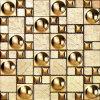 Foshan 모자이크 황금 유리제 예술 모자이크 (VMW3502)