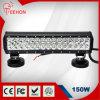 double barre d'éclairage LED des rangées 150W Osram 4WD de 15in pour le camion 4WD d'Ute tous terrains