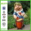 Музыкант серии Garden Gnome Смола Статуя (NF12021-2)