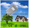 Luz de rua solar Integrated de alumínio do diodo emissor de luz da liga 6W