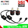 Farol de LED Super Bright de alto desempenho Hi Low Beam Headlight LED H4