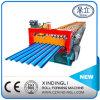 Colorir o rolo de aço do ferro ondulado que dá forma à maquinaria