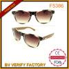 Bambù di protezione di F5386 UV400 retro e tempie di legno Sunglass