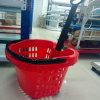Apple Type Plastic Basket avec Two Wheels Zhejiang Manufacturer