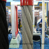 Câble métallique, galvanisé, non galvanisé, acier inoxydable 304, acier inoxydable 304