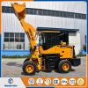 De Chinese MiniLader van het Wiel de Laders van 1.2 Ton met Concurrerende Prijs