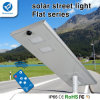 電池の太陽電池パネルが付いている統合された12-120W LEDの太陽街灯