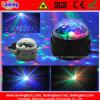 Bola 3W RGB magia partido cristalino del disco del LED