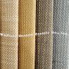 Slub Imitation de toile de lin de polyester pour un canapé-couvre