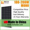 comitati solari del mono del comitato solare 195W tetto di energia solare