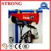 Grua elétrica de levantamento Multifunctional material da máquina da decoração Home do guindaste