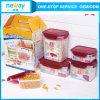 Neway 5 Stücke Plastikaufbewahrungsbehälter-