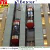 Shopping Mall intérieure durable ascenseurs Ascenseurs