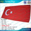 Drapeau national tourné de la Turquie de polyester (M-NF05F09028)