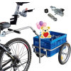 新しい自転車のトレーラーの貨物バイクのキャリア