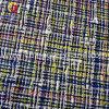 100% poliéster lana hilado teñido de tela para mujer de la capa (GLLML122)