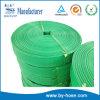 Tuyau en plastique flexible plat de l'eau de configuration