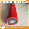 de Kabel van de Macht van de Rode Kleur Cu 8.7/15kv 18/30kv N2xsy/Na2xsy of Al/XLPE/Cws/Cts/PVC