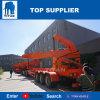 A Titan Carreta com Carregador Lateral de Empilhadeiras 37 Ton Trailer de Carregamento Automático Fabricado na China