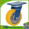 Qualität PU auf Cast Iron Wheel Caster