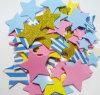EVA que brilla hace espuma cinco etiquetas engomadas decorativas de las estrellas