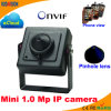 1.0 Megapixel Mini-IP-Splintloch-Kamera
