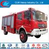 Acqua e camion dei vigili del fuoco rosso di Df della gomma piuma del camion di lotta antincendio 5-6m3