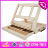 絵画Draw Wooden Magnetic Art Easel、Kids W12b063のためのWooden Table Easel
