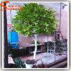 Decoração de jardim Árvore de plantas artificiais de plástico