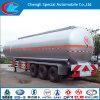 3 Edelstahl Fuel Tanker Semi-Trailer der Radachsen-45000liters