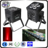 6in1 RGBWA UVLED PAR Can Stage Light