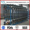 Planta modificada para requisitos particulares de la purificación del agua del uF