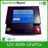 batterie de 12V 40ah LiFePO4 pour l'UPS et le système solaire
