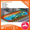 Het OpenluchtSpeelgoed van de Apparatuur van het Pretpark in de Speelplaats van de School
