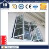 Inclinação térmica do alumínio da ruptura/a de alumínio do Casement/indicador de vidro da casa louro do toldo