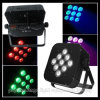 9PCS LED Rechargeable Battery u. DMX Wireless PAR Light