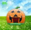 Calabaza de Halloween inflables Jumping tema bouncer para niños