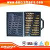 170 PCS Nitrided 티타늄 금속 교련 세트