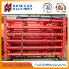 Suporte do transportador de correia com estrutura de aço da estrutura de suporte