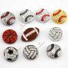 Spätestes Design 8mm Sportsball Jewelry für DIY Accessories