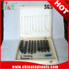 Высокое качество паяных пластин из карбида вольфрама инструменты /повернув Tools/приспособление для резки металла (9PCS/Set)