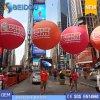 OEM рекламируя воздушный шар Backpack шариков освещения PVC воздушных шаров гуляя раздувной