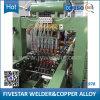Machine de soudage à points multiples pour la production de radiateurs de panneaux de transformateurs électriques