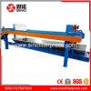 Prensa de filtro química automática azul de placa 800 con el transportador de correa