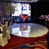 28FTのイベントの装飾、クラブダンス・フロアの製造業者のための円形の磨かれたダンス・フロア