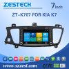 Navegación del coche DVD GPS de la pantalla táctil de Zestech para KIA K7